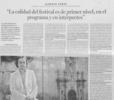 Alberto Urroz Noticias